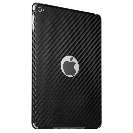 Carbon Fiber armor Back Skin (Black) for Apple iPad mini 4, , large
