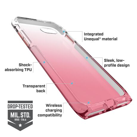 BodyGuardz Harmony Case featuring Unequal (Rose Quartz) for Apple iPhone SE (2nd Gen) / iPhone 8 / iPhone 7, , large