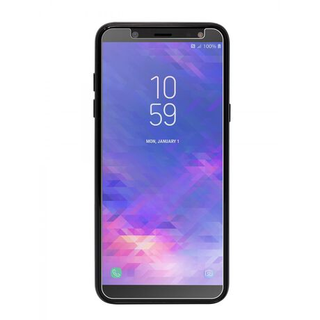Samsung Galaxy A6 BodyGuardz® Pure® 2 Premium Glass Screen Protector, , large