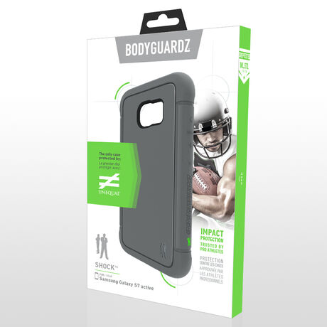BodyGuardz Shock™ Case with Unequal Technology for Samsung Galaxy S7 Active, , large