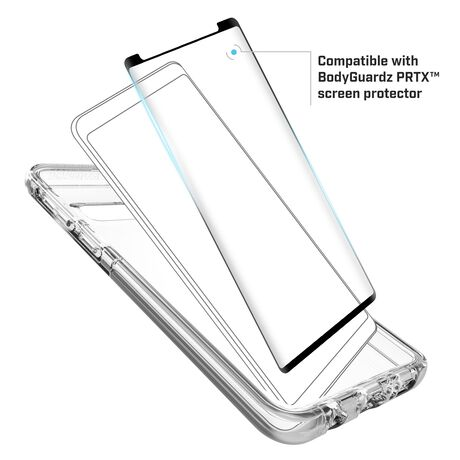 BodyGuardz Ace Pro Case featuring Unequal (Clear/Clear) for Samsung Galaxy S10+, , large