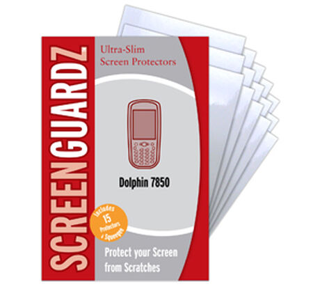 Classic Clear ScreenGuardz for HHP Dolphin 7850 ADHESIVE, , large