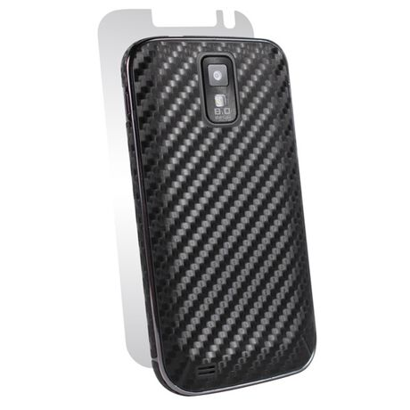 Carbon Fiber armor Full Body (Black) for Samsung Galaxy S II (T-Mobile), , large