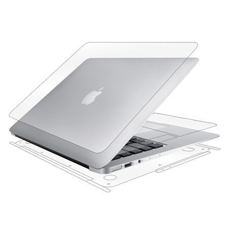 "UltraTough Clear Skins Full Body for Apple MacBook Air 13"" (2013), , large"