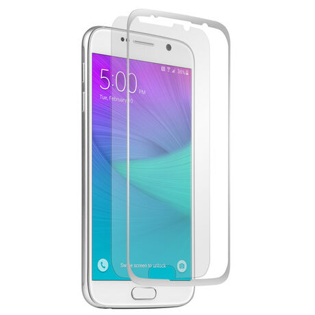 BodyGuardz Pure Glass + The Crown for Samsung Galaxy S6 (Silver), , large