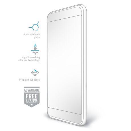 LG Risio 3 BodyGuardz Pure® 2 Premium Glass Screen Protector, , large