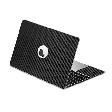 Carbon Fiber armor Full Body (Black) for Apple MacBook (2015), , large