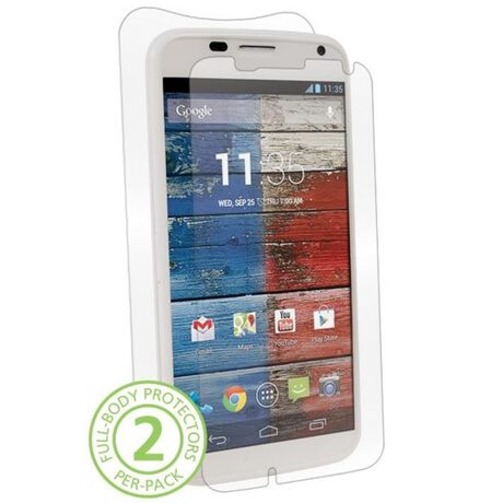 UltraTough Clear Skins Full Body for Motorola Moto X, , large
