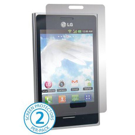 LG Optimus L3 Anti-Glare Screen Protectors, , large