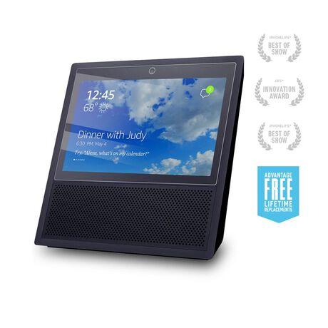 BodyGuardz Pure® Premium Glass Screen Protector for Amazon Echo Show, , large