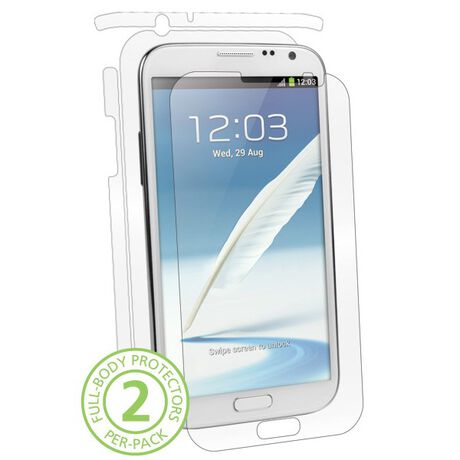 UltraTough Clear Skins Full Body for Samsung Galaxy Note II, , large