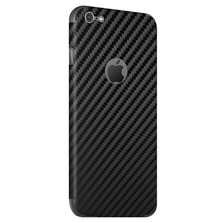 Carbon Fiber armor™ Back Skin (Black) for Apple iPhone 6/6s, , large