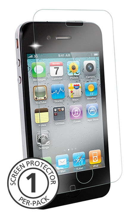 bb9538a3089 iPhone 4/4s Clear Tempered Glass Screen Protectors, Covers, & Skins