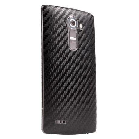 Carbon Fiber armor Back Skin (Black) for LG G4, , large