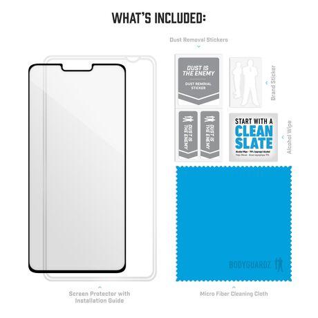 LG G8 ThinQ BodyGuardz Pure Arc™ Premium Glass Screen Protector, , large