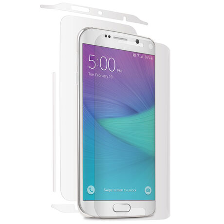 new style f6e13 37a2a Samsung Galaxy S6 Edge Clear Skins Full Body Protection