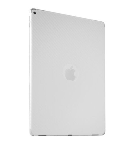 "Carbon Fiber armor™ Back Skin (White) for Apple iPad Pro 12.9"" (2 Gen), , large"