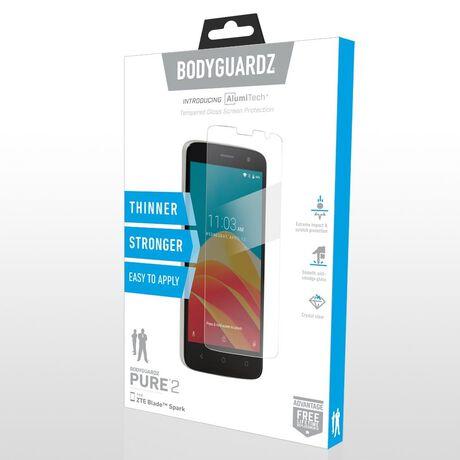 ZTE Blade Spark BodyGuardz Pure® 2 Premium Glass Screen Protector