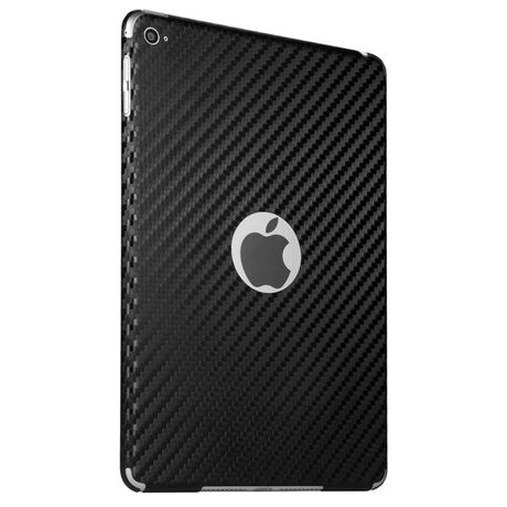 Carbon Fiber armor Back Skin (Black) for Apple iPad mini 4, , large