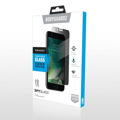 Apple iPhone 7 SpyGlass® (2-way privacy) Tempered Glass Screen Protector, , large