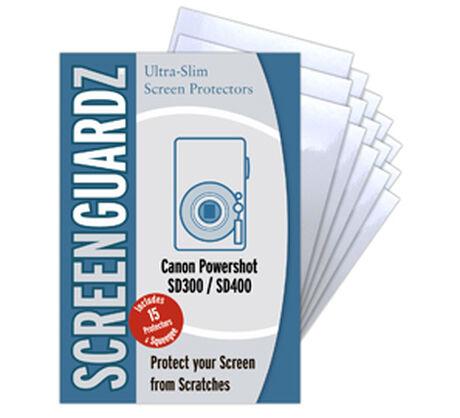 ScreenGuardz for Canon Powershot SD400, , large