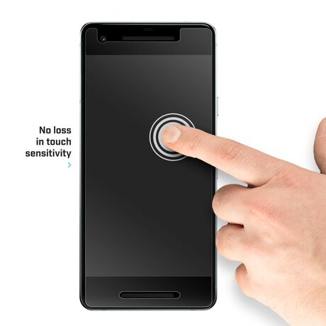 Google Pixel 2 BodyGuardz Pure® 2 Premium Glass Screen Protector, , large