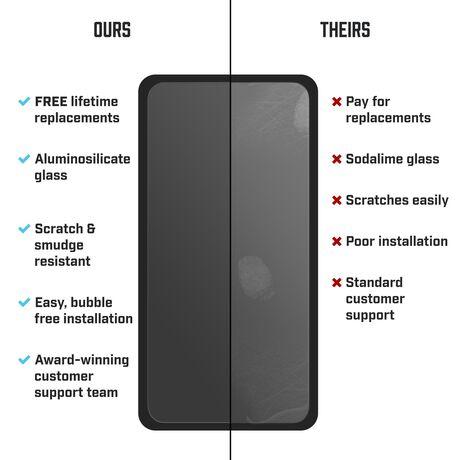 LG Fortune 2 BodyGuardz Pure® 2 Premium Glass Screen Protector, , large