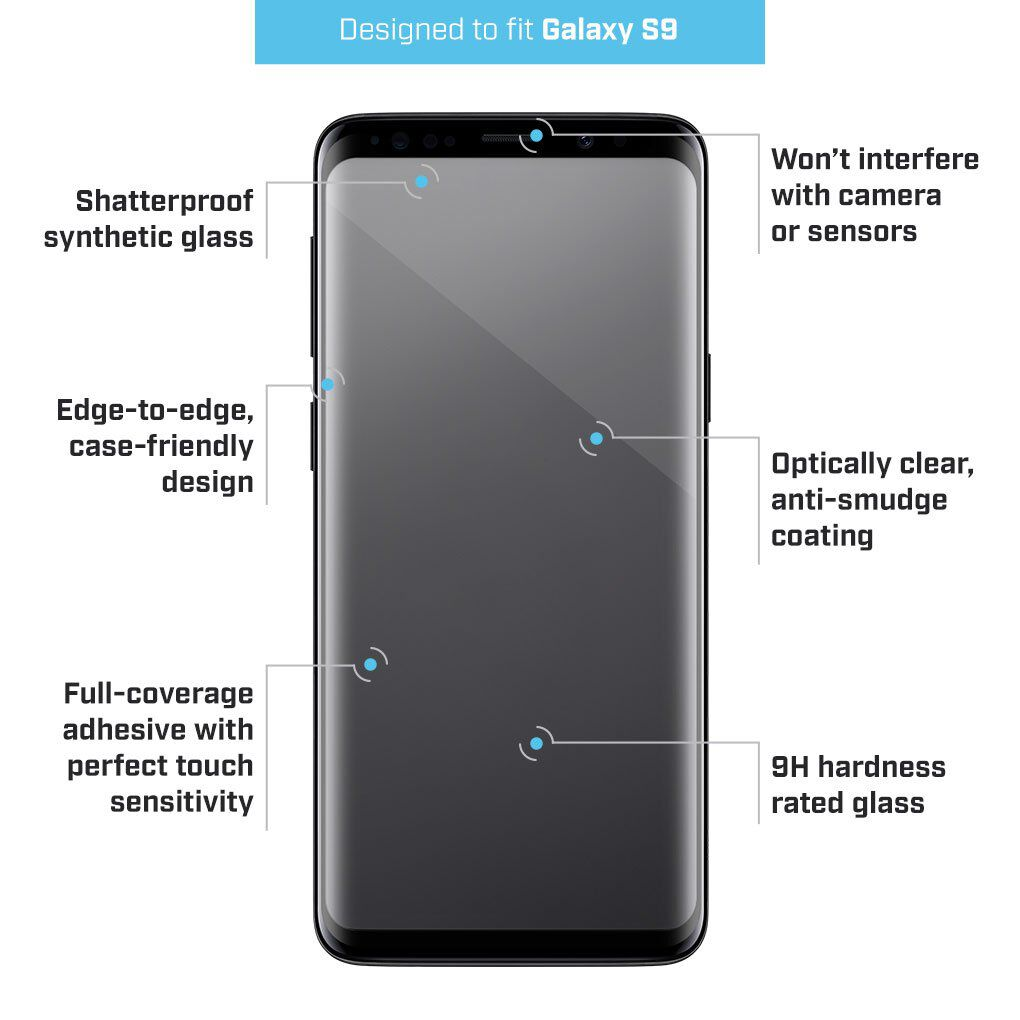 galaxy s9 screen case