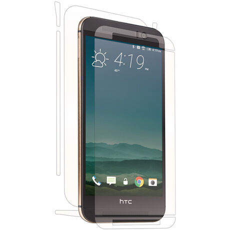 HTC One (M9) Clear Skins Full Body Protection, , large