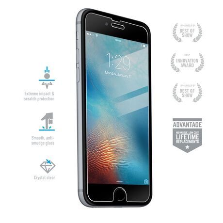 best service b0a90 ac5d0 Apple iPhone 6s Plus BodyGuardz Pure® Premium Glass Screen Protector