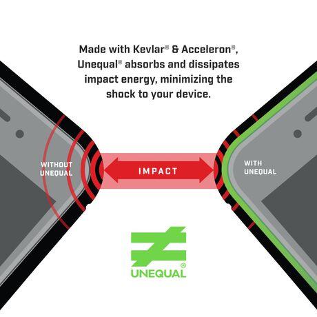 BodyGuardz Ace Pro Case featuring Unequal (Smoke/Black) for Apple iPhone 6/6s, , large