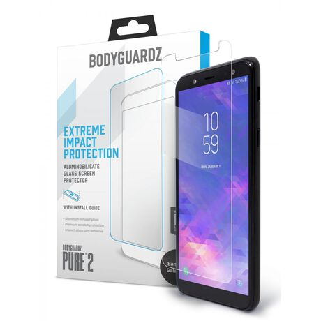 BodyGuardz Pure 2 Glass for Samsung Galaxy A6, , large