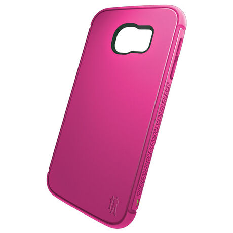 BodyGuardz Shock Case with Unequal Technology (Pink) for Samsung Galaxy S6, , large