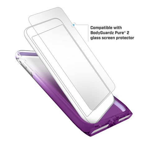 BodyGuardz Harmony Case featuring Unequal (Amethyst) for Apple iPhone SE (2nd Gen) / iPhone 8 / iPhone 7, , large