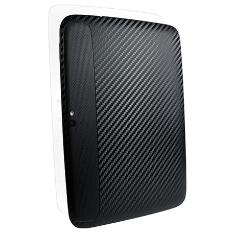 Carbon Fiber armor Back Skin (Black) for Google Nexus 10, , large