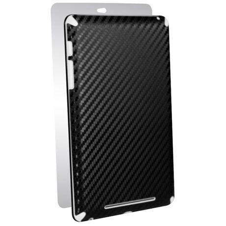 Carbon Fiber armor Back Skin (Black) for Google Nexus 7, , large