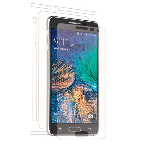 Samsung Galaxy Alpha Clear Skins Full Body Protection, , large