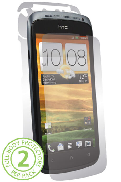 UltraTough Clear Skins Full Body for HTC One S, , large