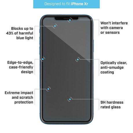 new styles a3a4d 8b516 Apple iPhone Xr Pure® 2 EyeGuard Blue Light Glass Screen Protector