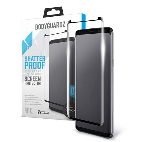 save off d28c1 e543e Samsung Galaxy S9 PRTX™ Shatterproof Synthetic Glass Screen Protector