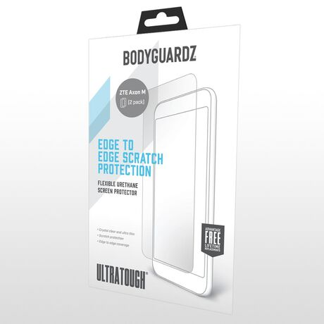 UltraTough® Clear ScreenGuardz® for ZTE Axon M, , large