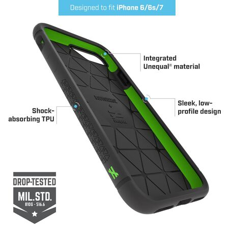 BodyGuardz Shock™ Case with Unequal Technology for Apple iPhone 7, , large