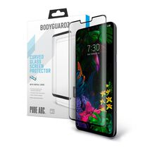 LG G8 ThinQ BodyGuardz Pure Arc™ Premium Glass Screen Protector