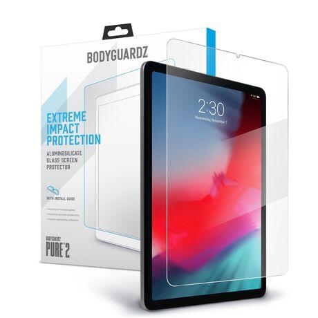 "Apple iPad Pro 11"" (2nd Gen) BodyGuardz® Pure® 2 Premium Glass Screen Protector, , large"