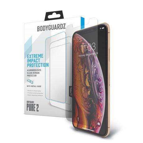 Apple iPhone Xs BodyGuardz® Pure® 2 Premium Glass Screen Protector