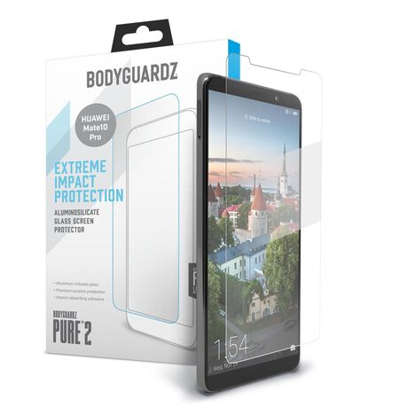 BodyGuardz Pure 2 Glass for Huawei Mate10 Pro, , large