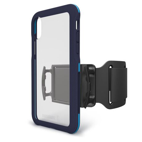 BodyGuardz Trainr Pro Case with Unequal Technology (Navy/Blue) for Apple iPhone X, , large