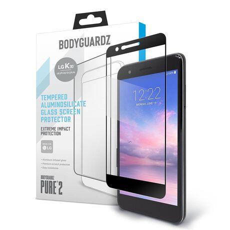 BodyGuardz Pure 2 Glass for LG Harmony 2 / Premier Pro LTE / K30 / Phoenix Plus, , large