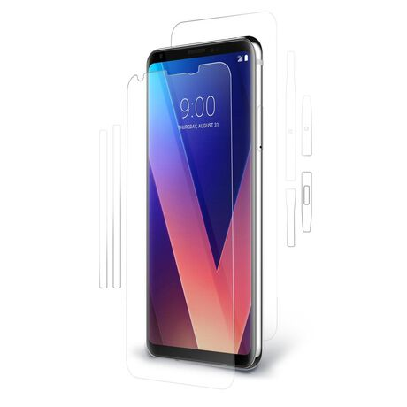 LG V30 / V35 ThinQ UltraTough® Clear Skins™ Full-Body Protector, , large
