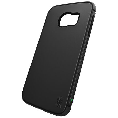 BodyGuardz Shock Case with Unequal Technology (Black) for Samsung Galaxy S6 Edge, , large